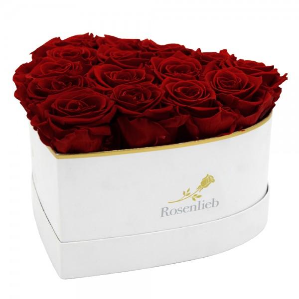 Lovely Heart - 15 Infinity Roses